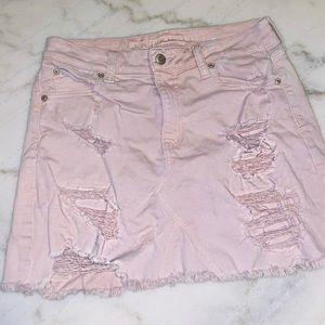 Light Pink American Eagle Mini Skirt!